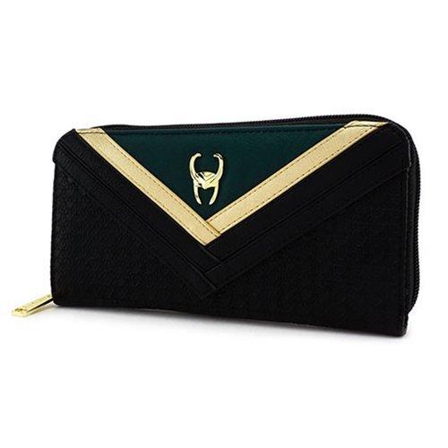 Avengers Loki Zip-Around Wallet Standard