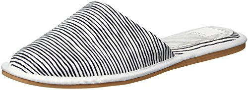 Dolce Vita White Fabric Femmes Stripe TrYnHr4