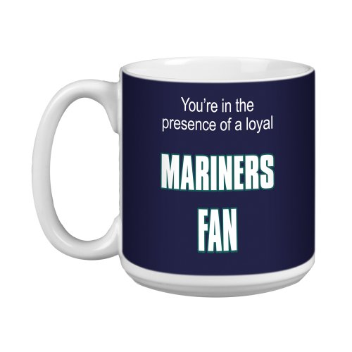 - Tree-Free Greetings XM28101 Mariners Baseball Fan Artful Jumbo Mug, 20-Ounce
