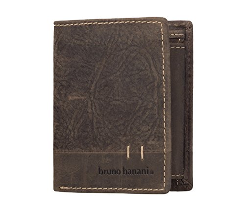 bruno banani Harlem Quadrat Wallet Brown
