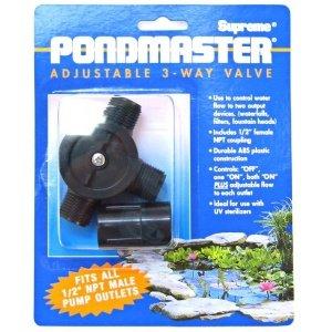 Pondmaster Adjustable Diverter Valve by PondMaster