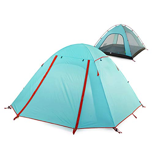 Azarxis 1 2 3 4 Person Tent, 3 Season Lightweight Backpacking Waterproof Camping Easy Setup Tent Double Layer & Double…