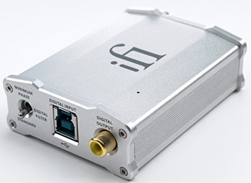 iFi Nano iDSD DAC and Headphone Amp Combo by IFI