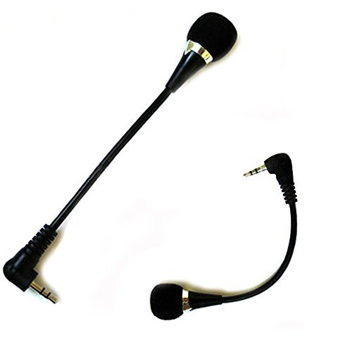 Kasstino Mini 3.5mm Noise Canceling Flexible Microphone Mic For PC Laptop Notebook Skype