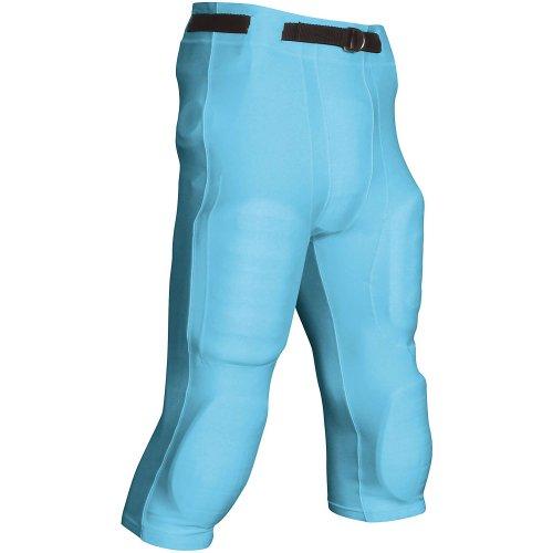Light Football Pants Game - Goal Line Poly Spandex Football Game Pant L Light Blue Adult