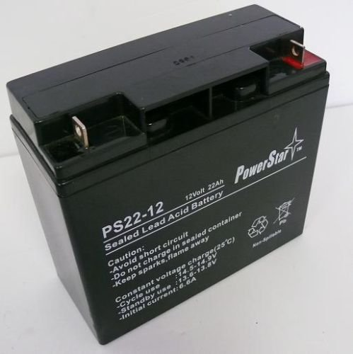 12V 22AH Replaces 20AH Sealed Lead Acid (SLA) Battery -