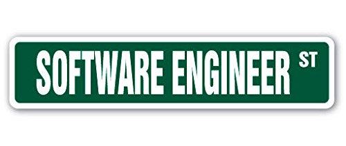 Cortan360 SOFTWARE ENGINEER Street Sign computer code writer IT programmer 8