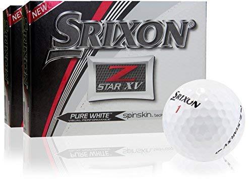 Srixon Z Star Xv 5ゴルフballs-ダブルダース B072VS7TZL