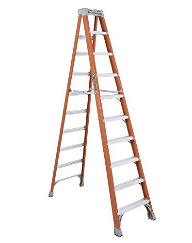 Louisville Ladder FS1510 Fiberglass Step Ladder, 10-Feet ()