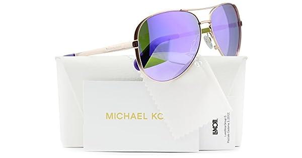 Amazon.com: Michael Kors MK5004 Chelsea Aviator - Gafas de ...