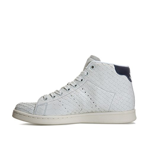 Adidas Originali Donna Stan Smith Mid Trainer Cristallo Us10 Bianco