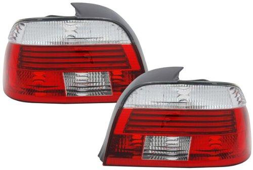 Carparts-Online 15644SET Facelift R/ückleuchten rot klar