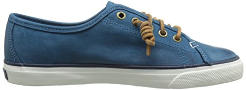 Sperry Top-Sider Women's Seacoast Weathered and Worn Fashion Sneaker, Blue, 5 M US