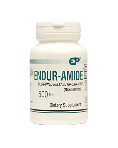 Endur-Amide Sustained Release 500mg NiacinAmide by Endurance Products