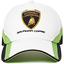 Automobili Lamborghini Squadra Corse Cap, White