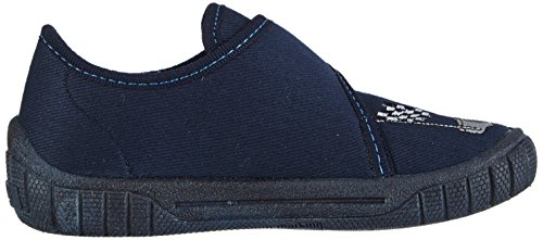 Superfit BILL - pantuflas de lona niños azul - azul (OCEAN 80)