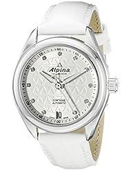 Alpina Womens AL-525STD2C6 Comtesse Analog Display Automatic Self Wind White Watch