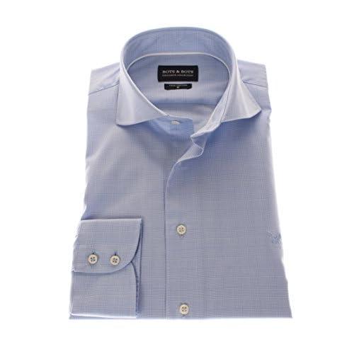 Cuello Elegante 766011 Camisa Botsamp; Collection Hombre Para Exclusive 100Algodón VMUzqSp