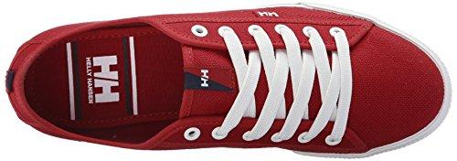 Helly Hansen Fjord Canvas, Zapatillas de Deporte Exterior para Hombre Rojo (Red)