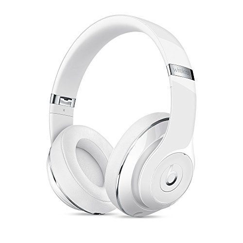 Beats Studio Bluetooth Wireless Over-Ear Headphones in Gloss White