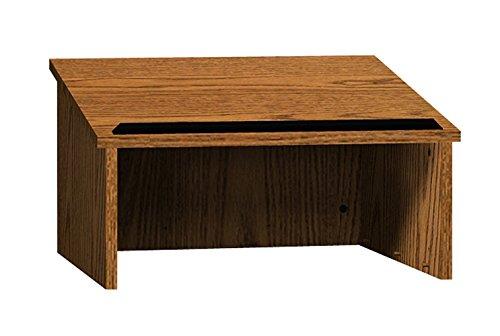 Oak Lectern - Ironwood Table Top Lectern, Dixie Oak (TTLDO)