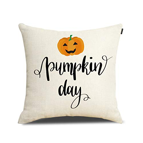Happy Halloween Decoration Pumpkin Day Pillow Cover Cushion