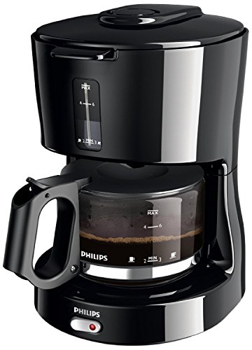 Philips Daily Collection Coffee Maker 0.6L (HD7450) / Available in Black or White Colorways 220V ...