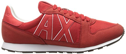 Fashion Armani Running Exchange Sneaker Red Sneaker Men Retro X Absolute A xpwq5T0PHR