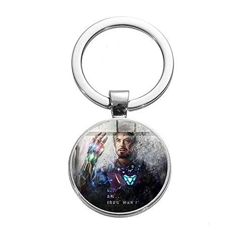 Llavero de Iron Man Tony Stark Marvel The Avengers 4 Endgame ...