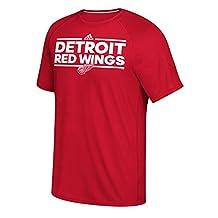 adidas Men's NHL Detroit Red Wings Short Sleeve Ultimate Tee