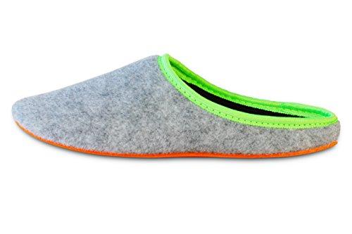 Comodi uomini Donne Pantouf Grigio arancione Pantofola Sono Scuro Scarpe Morbido Leggero Chiaro Flessibili Estremamente Doullens Pantofole per Rosso Le Bpp4IOqx