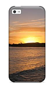 First-class Case Cover For Iphone 4/4s Dual Protection Cover Cuba Earth Sunset Nature Sunset