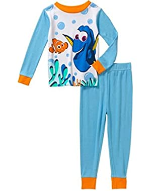 Disney Finding Dory Cotton 2 Piece Baby Boys Pajama Set
