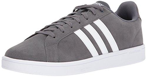 Adidas Mens Cf Avantage Sneaker Gris / Course Blanc / Gris