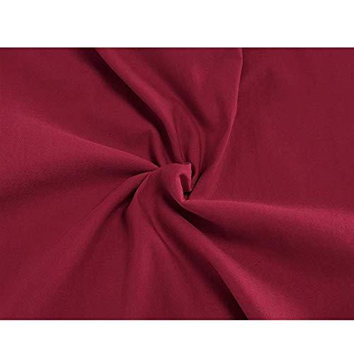 Las Mangas Vestido Sounded Con Peng Mujeres Rojo Estilo S Sin Para Mujer color Tamaño Lápiz Rojo Retro X4v5wq5
