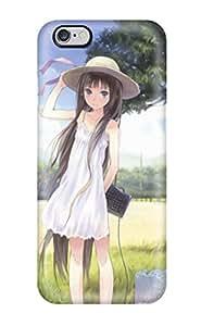 For Iphone 6 Plus Fashion Design Anime Girl Iphone Case-zKtfIrd6329CzZGp(3D PC Soft Case)