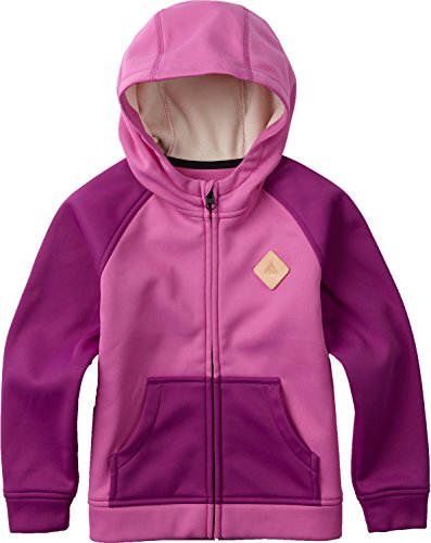 Price comparison product image Burton Girls Girls Mini Bonded Full-Zip Hoodie, Super Pink, 3T