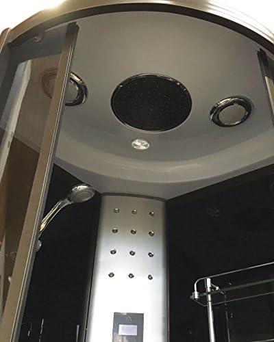 DUCHA CABINA DE HIDROMASAJE SPA RADIO Modelo Toronto 90 x 90 cm ...