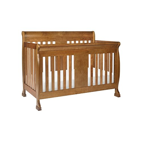 1 Convertible Crib With Toddler Bed Conversion Kit, Chestnut (1 Conversion Kit)