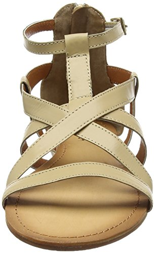 Tantra Strap Leather Sandal - Sandalias para mujer Beige