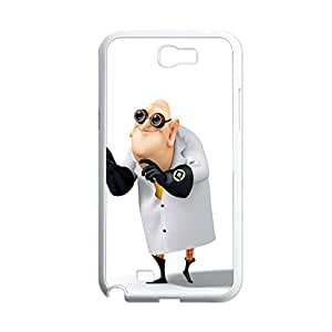 Print With Despicable Me Friendly Back Phone Case For Guys For Note2 Galaxy N7100 Choose Design 11