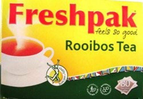 NEW Freshpak Rooibos Tea 80 Tagless Bags (2 X Pack) 160 Total H25542