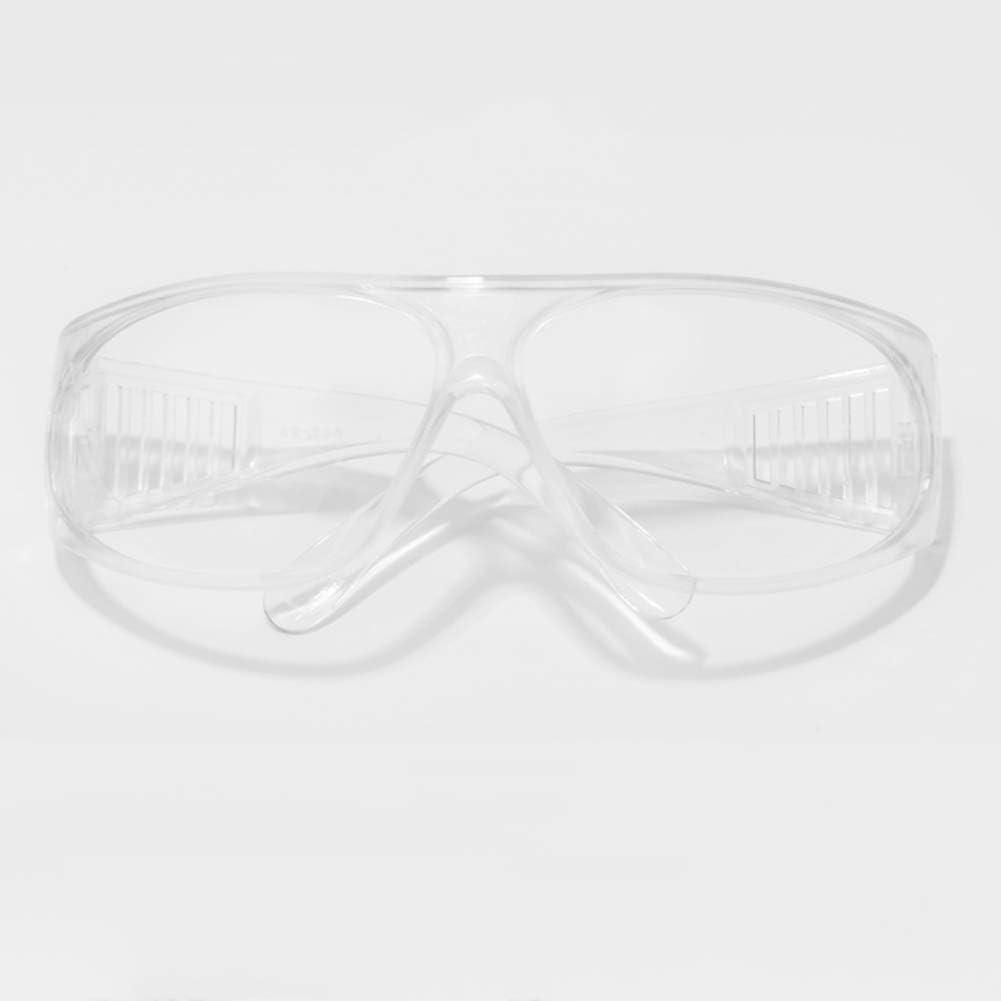 Gafas de Seguridad Gafas de protección Transparente Médico - Anti Niebla Prueba de Polvo Anti rasguños Resistente al Viento Anti UV - Lentes de Seguridad - con Tapa Lateral - Ventilación indirecta