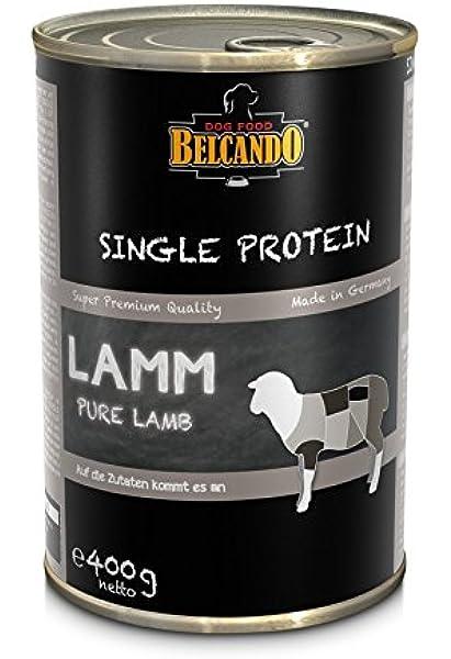 Belcando 10 corderos de proteínas individuales de 400 g ...