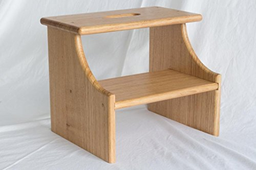 Wooden Step Stool – 2 Step – Hardwood