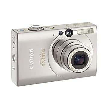 Canon Digital Ixus 85 Is Compact Camera Silver 10 Mp 3x Optical Zoom 2 5 Inch High Resolution Purecolor Lcd Ii