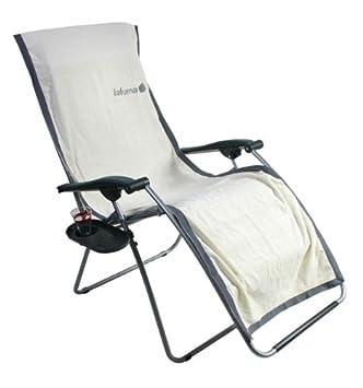 LAFUMA Frotteeauflage XL ECRU (beige) Für XL Relaxliegen Frotee Auflage  Handtuch XL