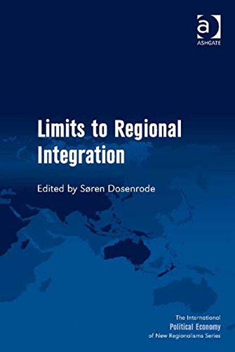 Download Limits to Regional Integration (The International Political Economy of New Regionalisms Series) Pdf
