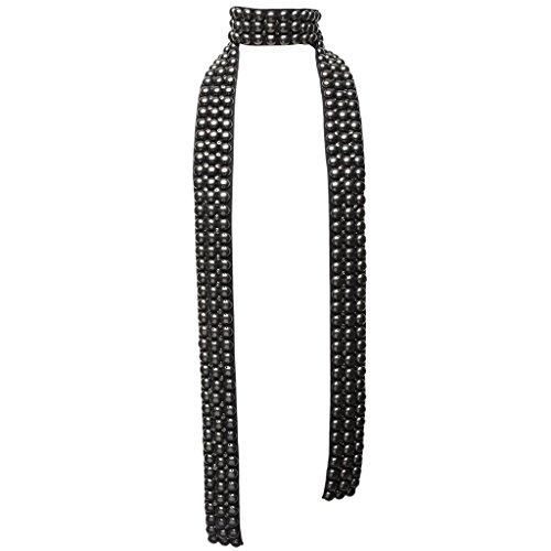 isabel-marant-womens-studded-brass-and-silk-skinny-scarf-black