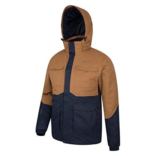 Mountain Warehouse Luna Mens Ski Jacket - Waterproof Rain Coat ... d50f03836